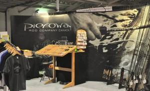 Pieroway Rod Company Booth